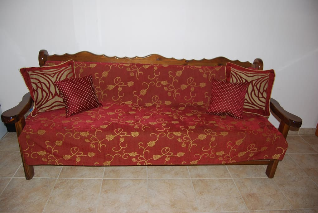 Sofa in the double room