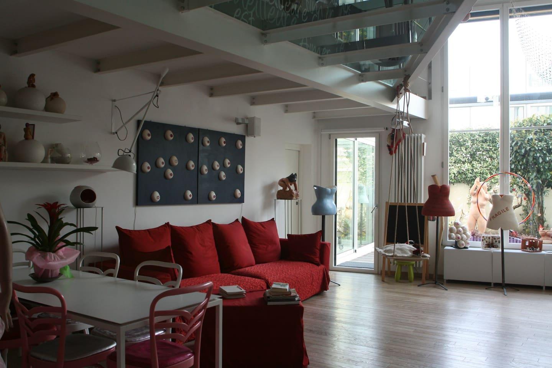 LOFT D'ARTISTA - Lofts for Rent in Milan