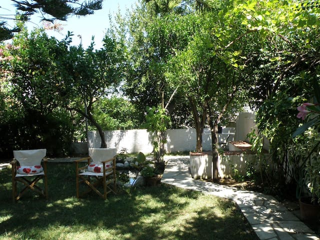 Secret Garden Apartment, 3min from Port - Skopelos - Leilighet