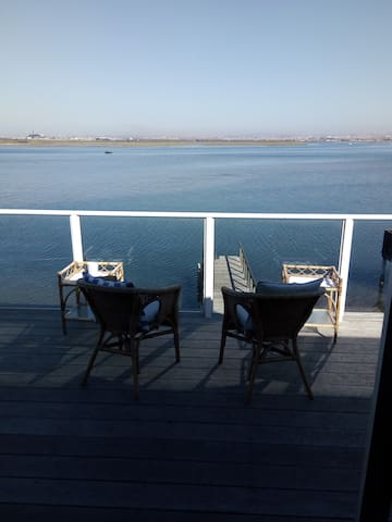 The view, the river, the ocean..... :-) all yours
