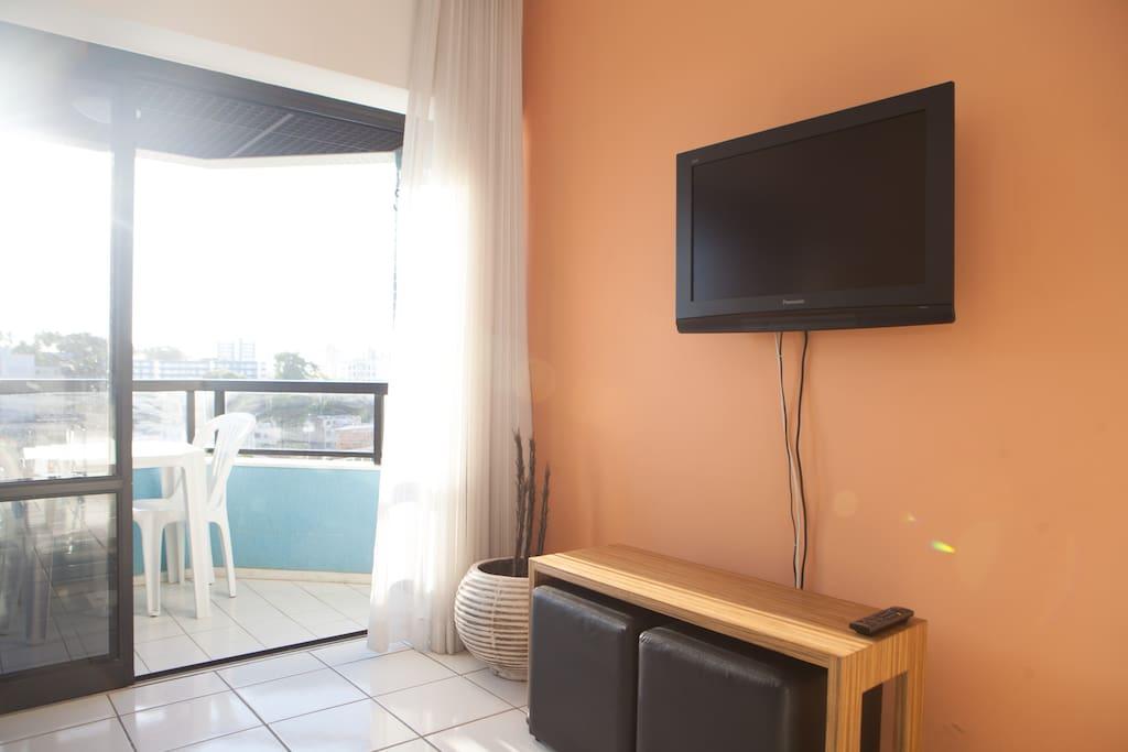 Upscale one bdrm apartment in Barra