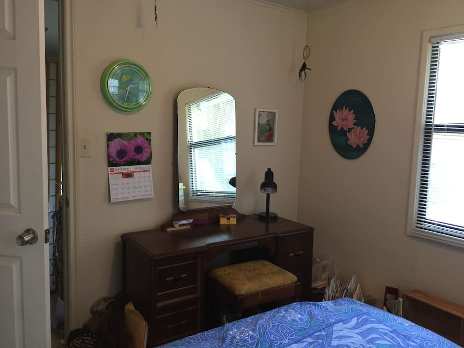 The Front of the Bedroom