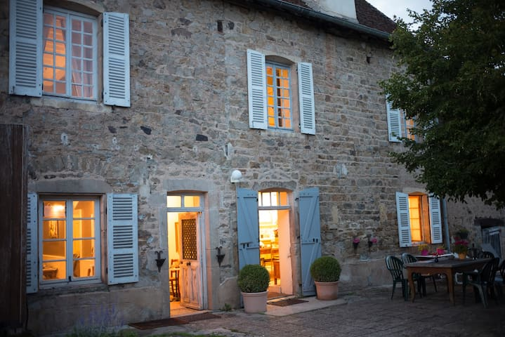 Rustic Luxury 4br house near Cluny - Donzy-le-National - Rumah