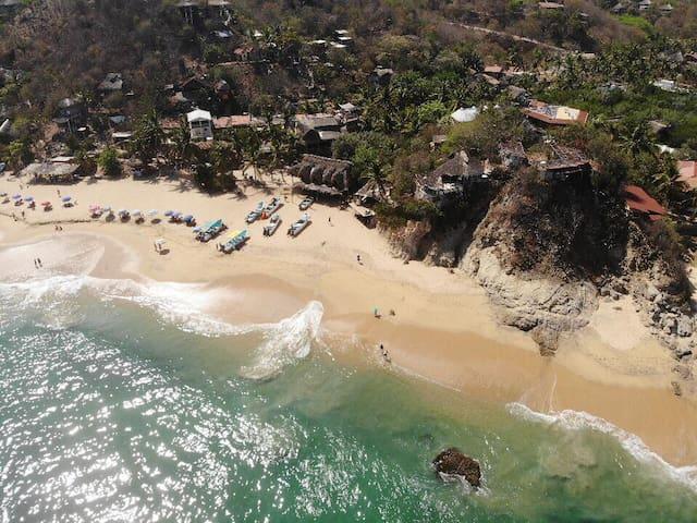 Loft en  Playa Rinconcito desayuno incluido
