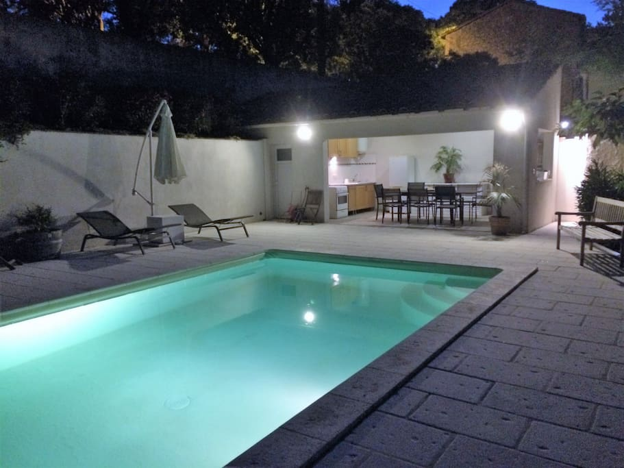 piscine + pool house