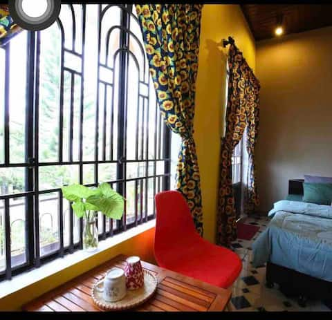 Longan homestay- Bacony double room