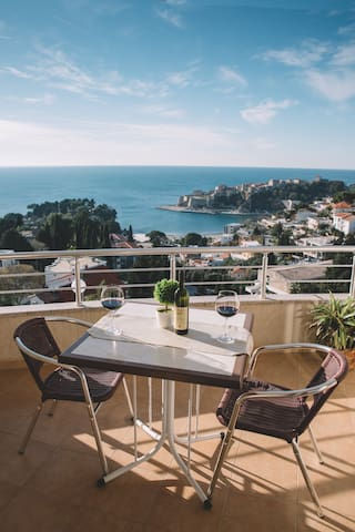 Panorama Residence-Lovely Room with Sea View - Ulcinj - บ้าน
