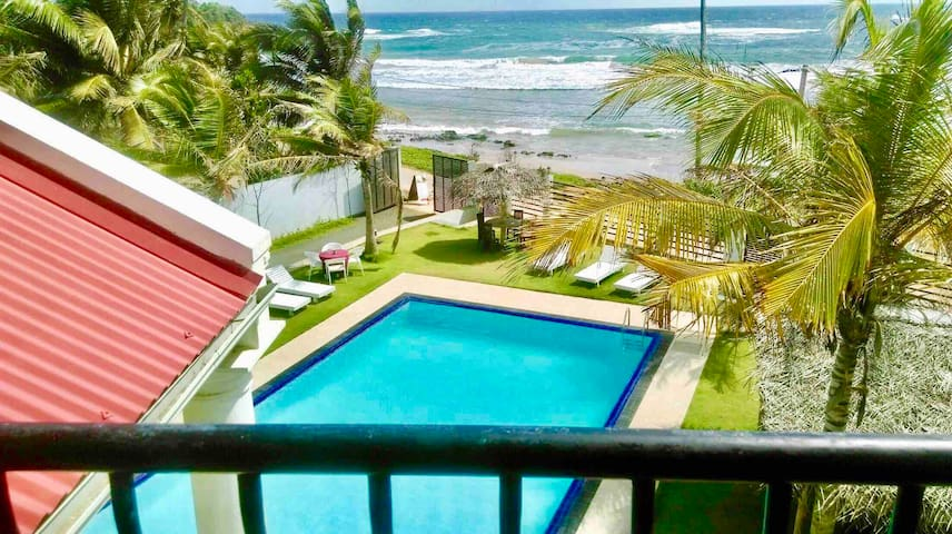 Crystal Resort dickwella.Double room(sea view)