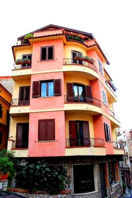 casa Sole & Mare al centro di tTaormina