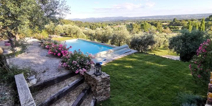 Aix en Provence, maison avec vue