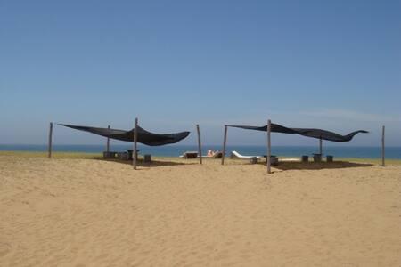 Cabaña madera 3dorm playa oceanía  - Rocha
