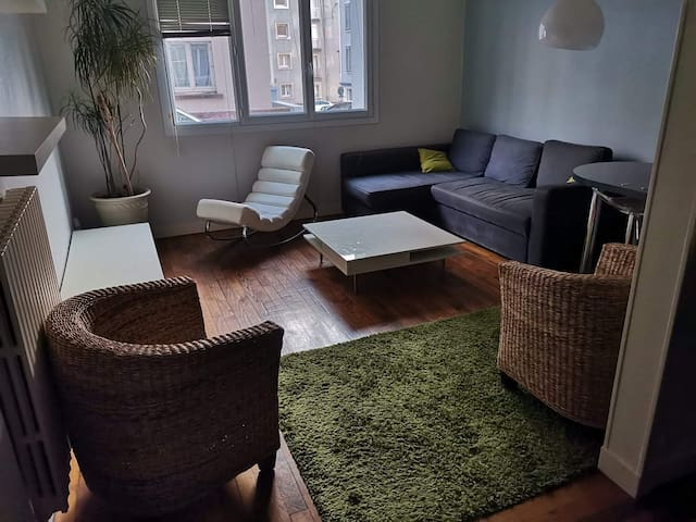 Appartement centre ville - Halles saint Louis