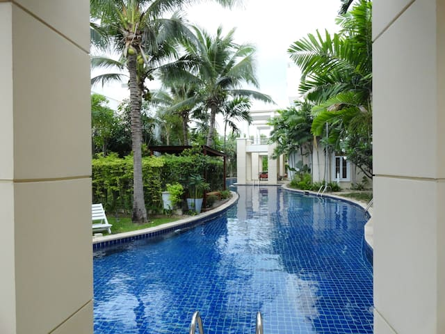 Spacious ground floor apt Hua Hin - Hua Hin - Lägenhet