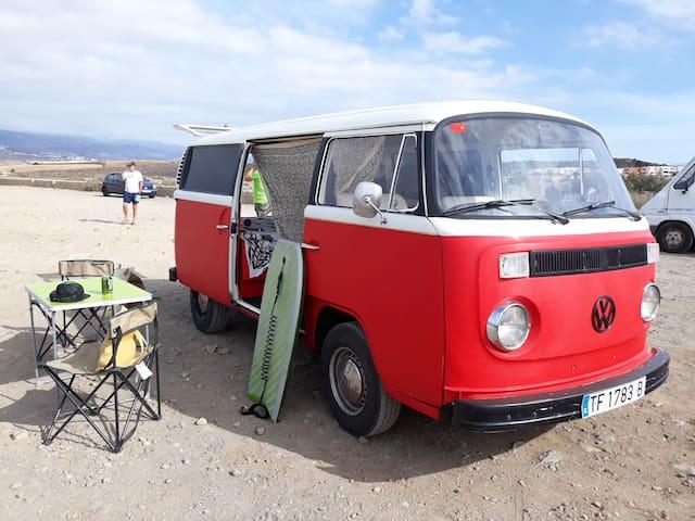 campervan t2 vw 1972