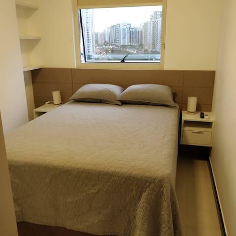 H&E Home: sofisticado e confortável apartamento