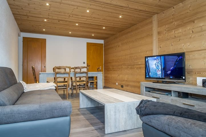 really nice apartment in the heart of chatel and f