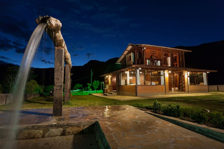 Fantástica casa em Reserva  Natural (RPPN)