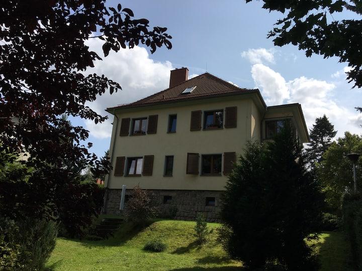 Apartament w willi z widokiem