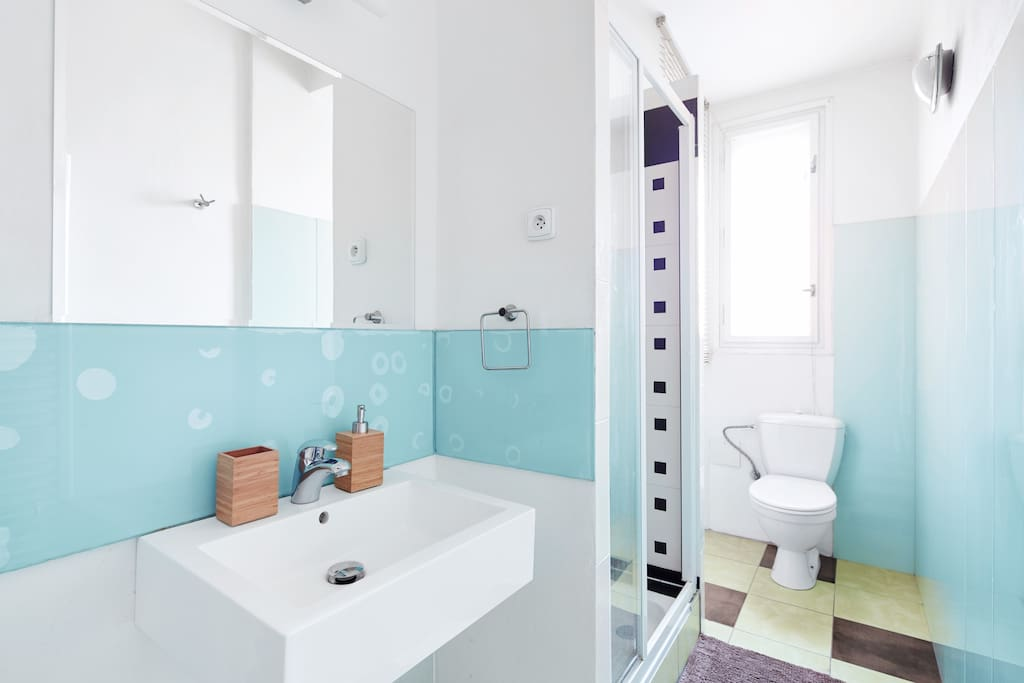 Bathroom with shower