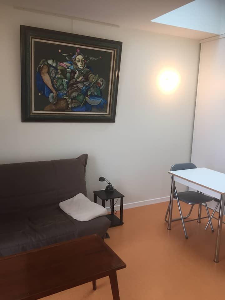Studio plein centre ville PErros-Guirec