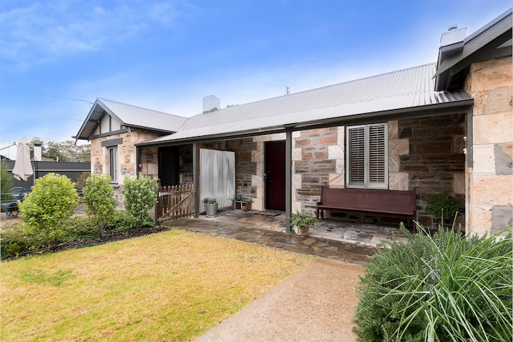 Historical cottage in the Barossa Valley.