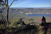 Great views of our location whilst hiking in the Grampians National Park