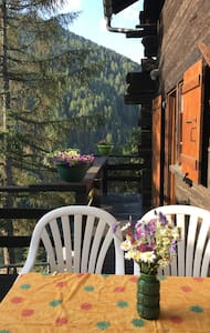 Mountain chalet for 5 persons St-Luc, Switzerland