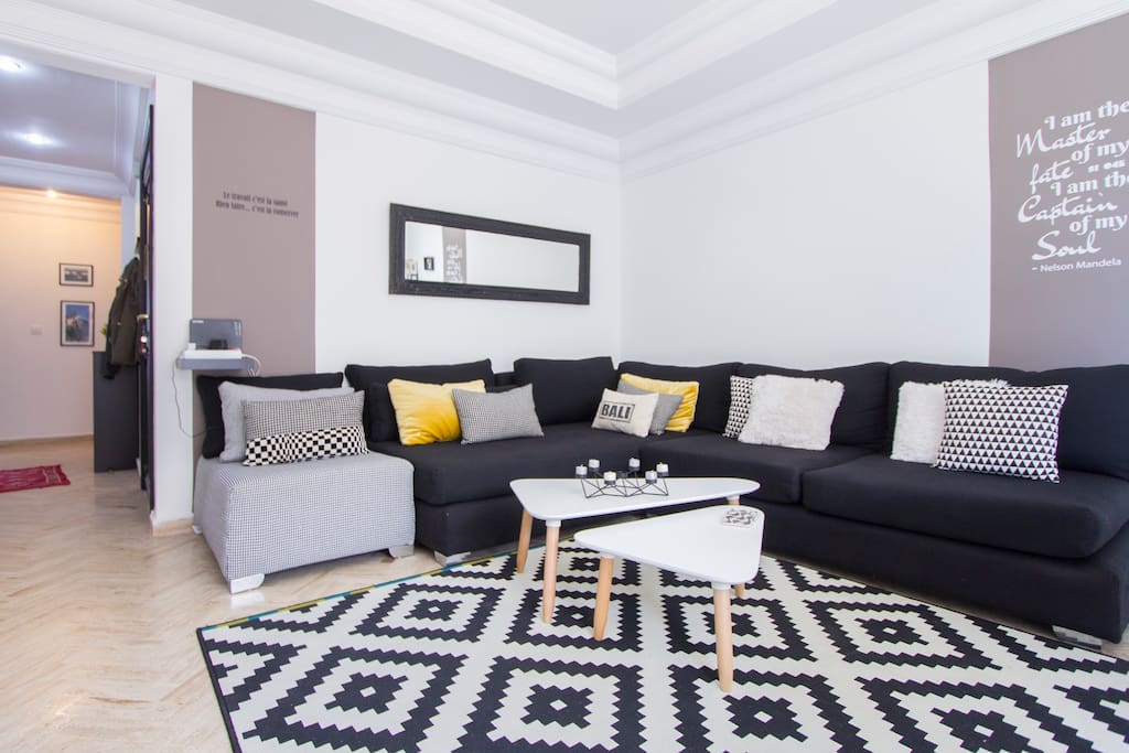 Furnished Apartment For Rent In Casablanca