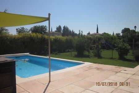Maison 110 m2 - 7 personnes - avec piscine - Sérignan-du-Comtat