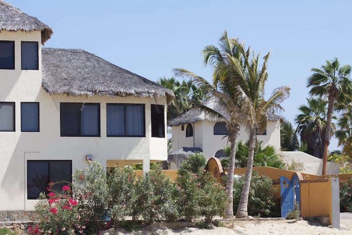 Beachfront home at the San Pedrito surf break