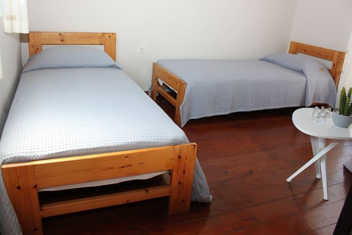 Mezzanine floor bed room