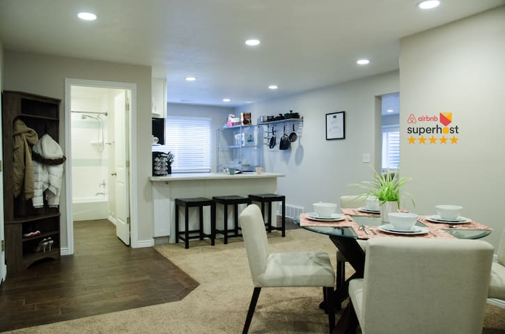 Premier apartment at family friendly neighborhood