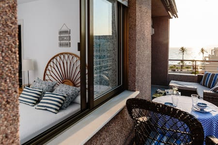 Luminoso apartamento frente al mar, Costa Tropical