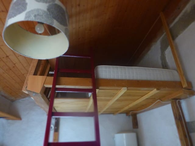 Petit studio sur deux étage