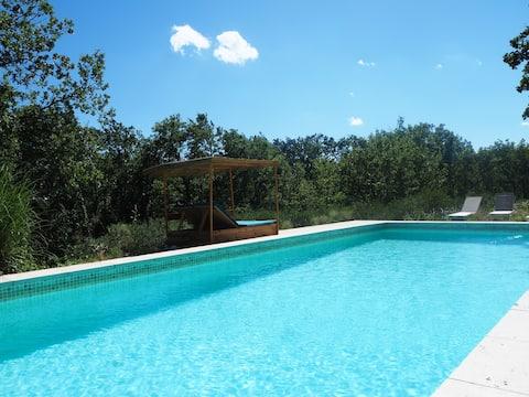 Suite privée et indépendante avec piscine