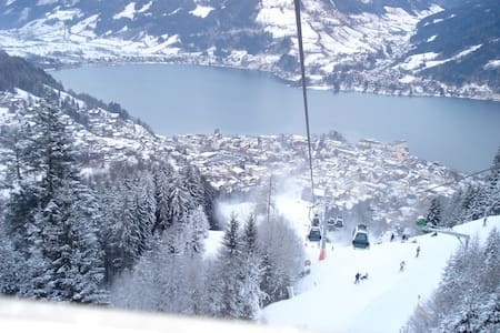 Spacious Central Zell am See apartment (sleeps 6) - Zell am See - Pis
