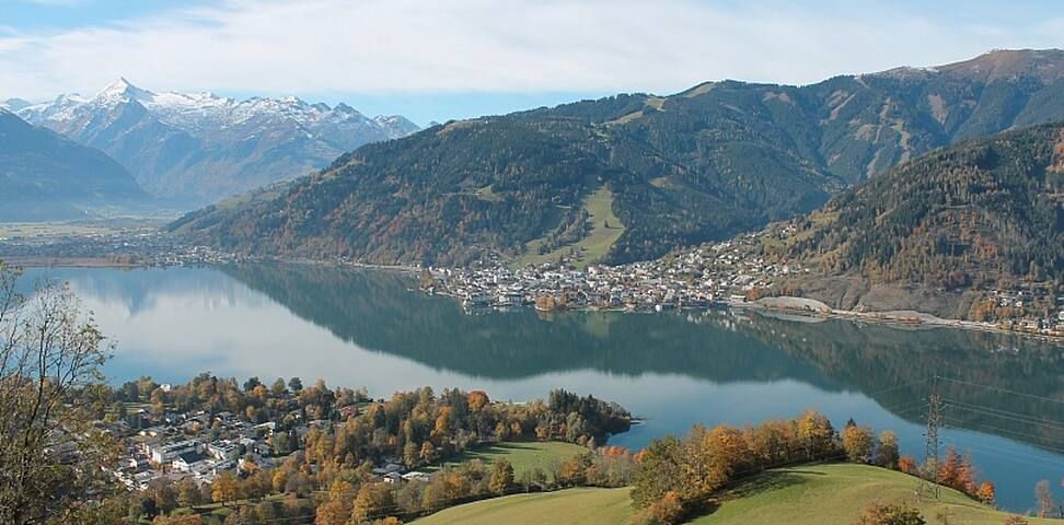 Central spacious Zell am See apartment (sleeps 6) - Zell am See - Appartement