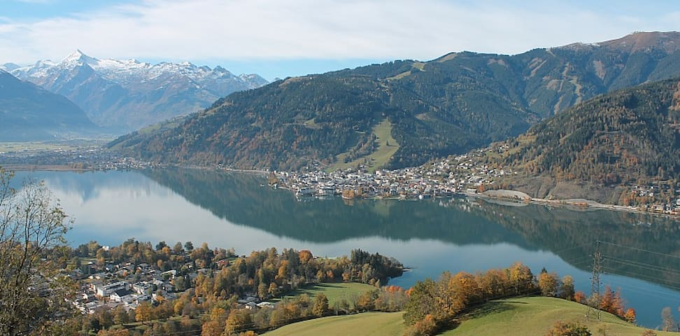 Central spacious Zell am See apartment (sleeps 6) - Zell am See - Apartamento