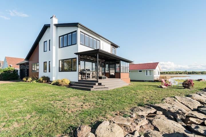 Beautiful waterfront home