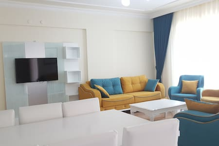 Apartment 3+1 for holidays in Elit Park Residence - Konyaaltı - Servicelägenhet