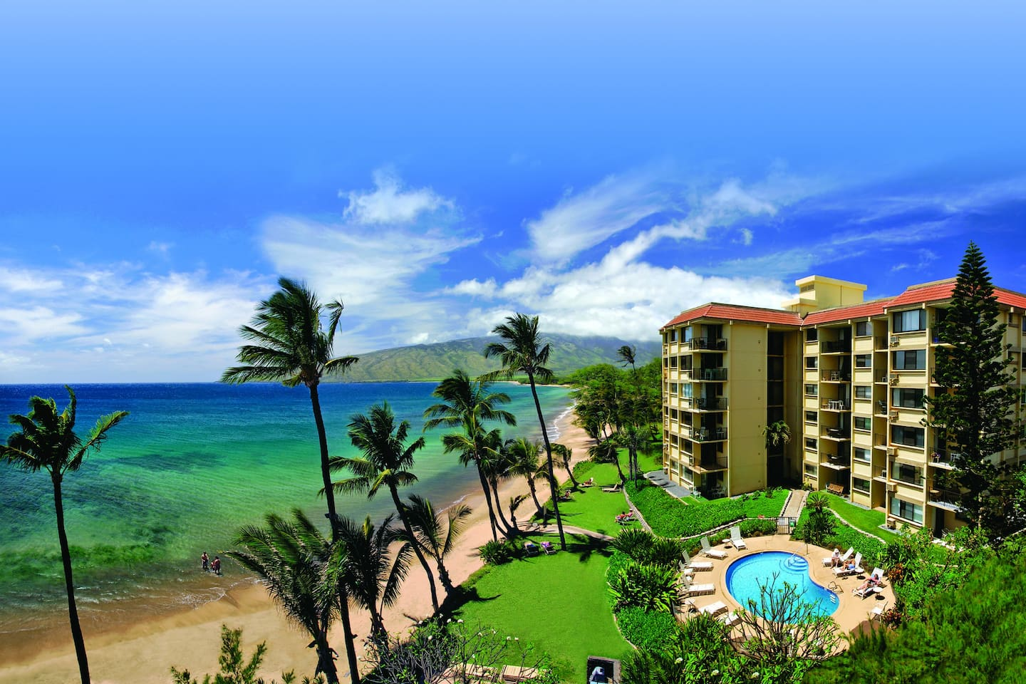 Kealia Resort in sunny South Maui!