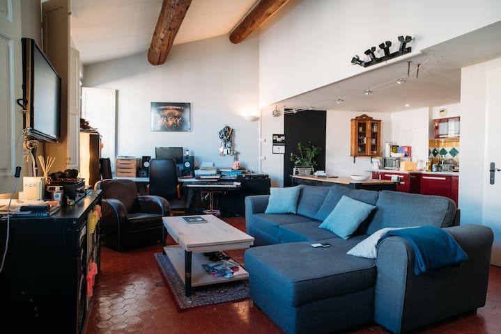 Duplex centre ville - Aix-en-Provence - Appartement