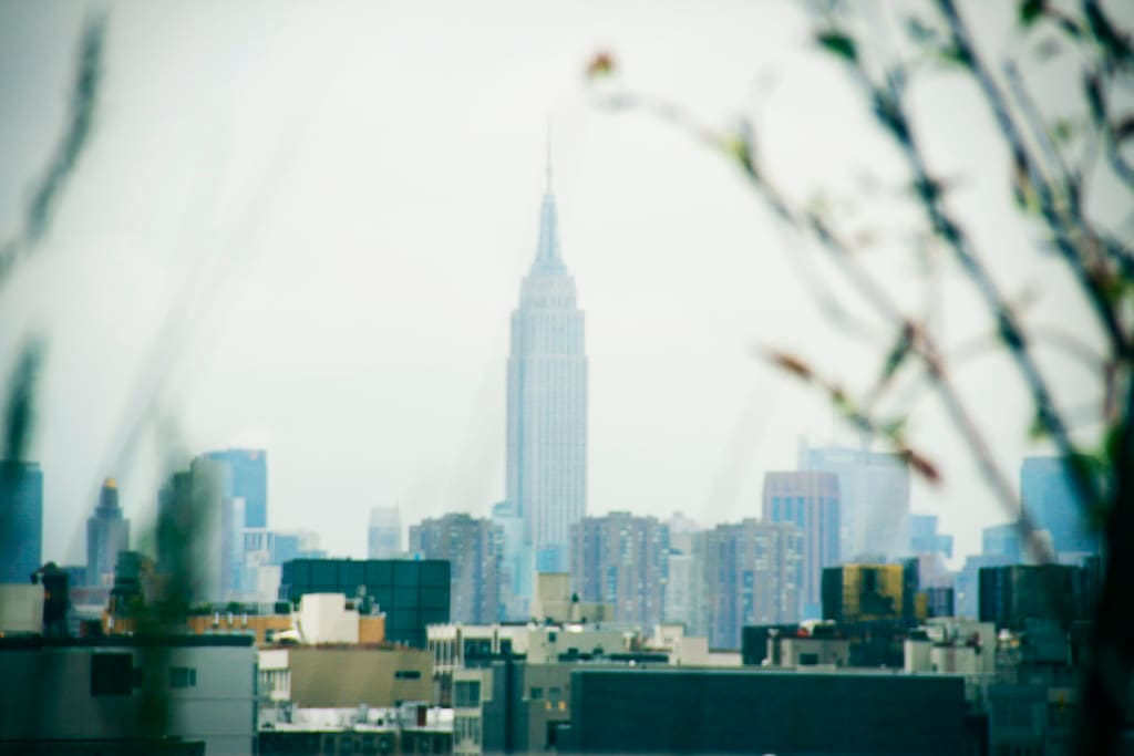 Empire State, as seen from the rooftop!