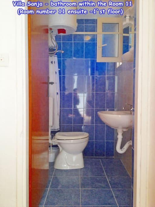 Villa Sanja - private bathroom in room for 2 persons