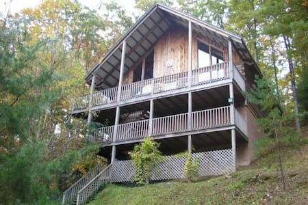 Log Cabin near Great Smoky Mountain - Townsend