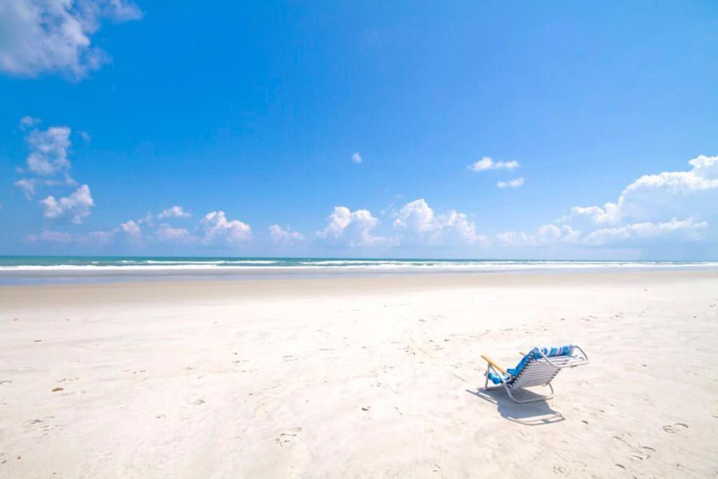 You can do it all at St. Augustine Beach - Are you a boogie-boarder? Sunbather? Beach-comber? You can do it all on the glittering