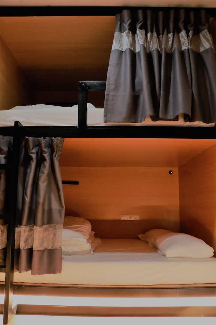 Sylvis Hostel Double Bunk bed in Dormitory Mixed