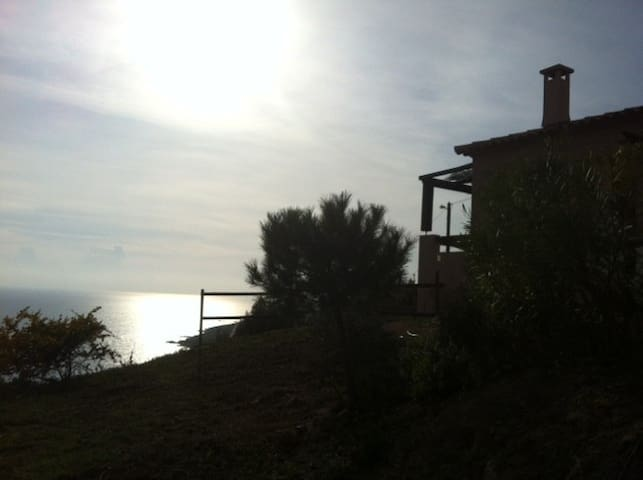 house with incredible sea view - Casaglione - Ev