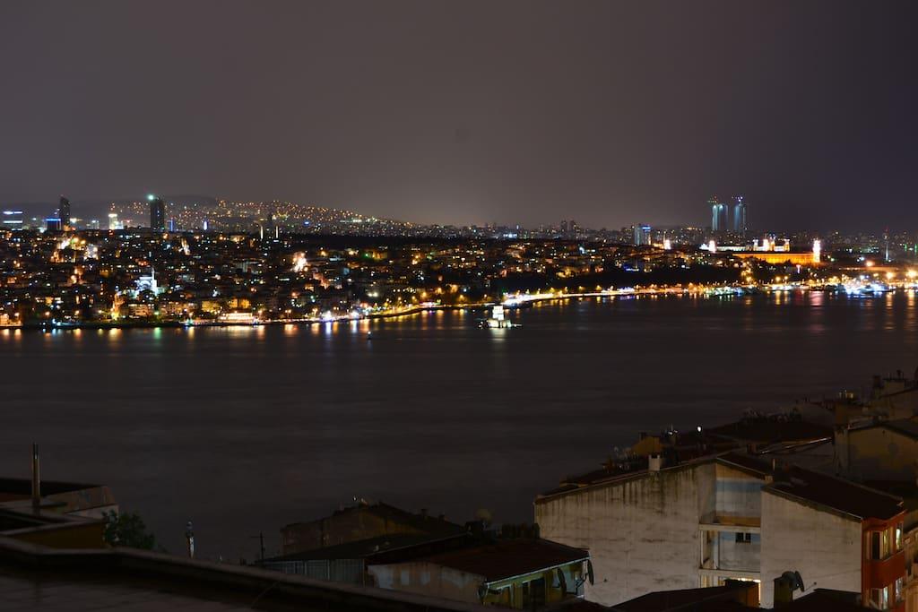 Sea view flat n stanbul c hang r appartamenti in - Divano di istanbul ...