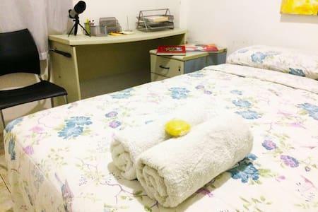 Quarto com cama de casal - 萨尔瓦多 - 公寓